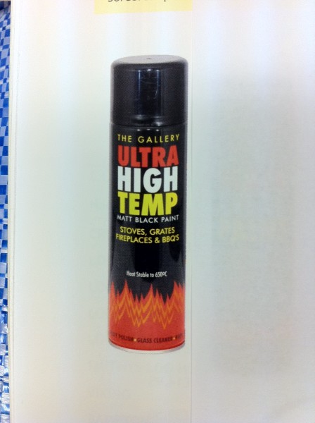 Ultra High Temperature Spray Paint