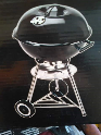 Steel kettledrum BBQ
